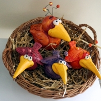 Landung im Nest